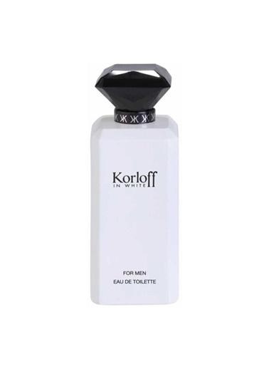Korloff In Whıte Man Edt 88 Ml Erkek Parfüm Renksiz